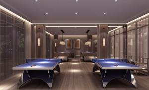 长者活动中心-乒乓球馆